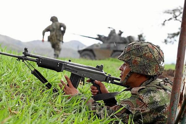 Fuerza pública evitó ataque guerrillero en el Cauca