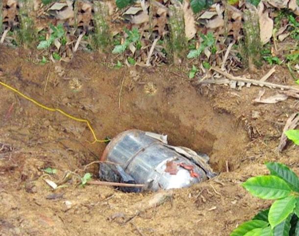 Farc ataca con un cilindro de bomba a la población de Domingodó, Chocó