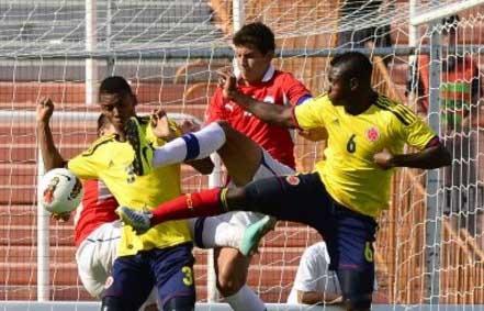Chile sigue en el liderato tras vencer a Colombia en el Suramericano Sub-20