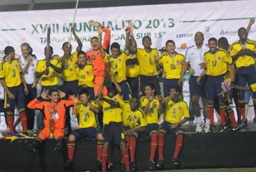 Selección Colombia Sub-15 ganó el Mundialito Tahuichi Aguilera