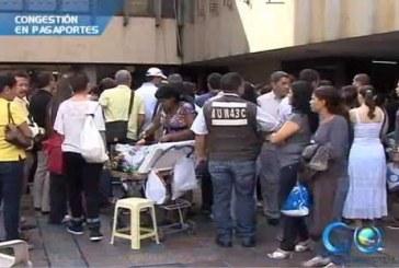 Continúa congestión en la Gobernación por trámite del pasaporte