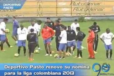 Deportivo Pasto renovó su nómina para enfrentar la Liga Postobón 2013