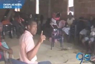 Hay más de mil desplazados en límites entre Valle y Chocó