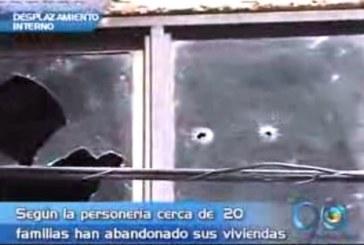 Desplazamiento interno por violencia en un barrio de Cali