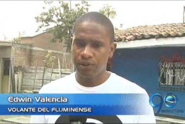 Edwin Valencia renovó contrato con Fluminense hasta 2014