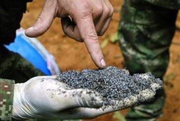 Fueron incautadas 4.3 toneladas de explosivos en Ricaurte