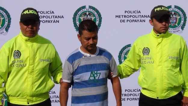 Capturan en flagrancia a un extorsionista en Popayán