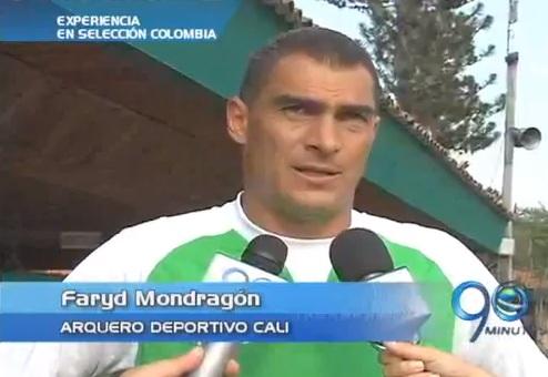 Faryd Mondragón, motivado por convocatoria a selección Colombia
