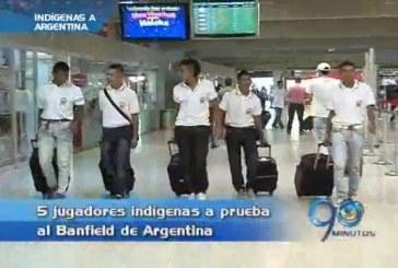 Indígenas futbolistas de Corinto, Cauca, viajaron a Argentina