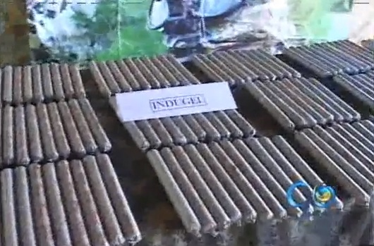Incautan caleta con material explosivo en Jamundí
