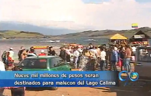 Destinarán millonarios recursos para hacer el malecón del lago Calima