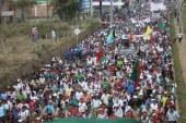 Indígenas del Cauca protestan por la muerte de uno de sus líderes