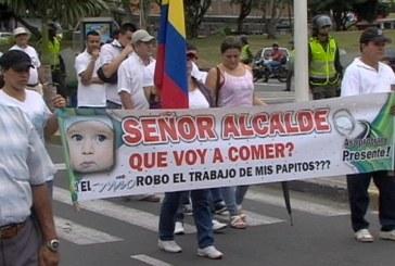 Transportadores protestan por incumplimiento de operadores del MIO