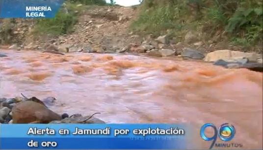 Bomberos de Jamundí denuncian explotación ilegal de oro