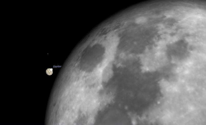 Desde Pasto se podrá ver el planeta Júpiter