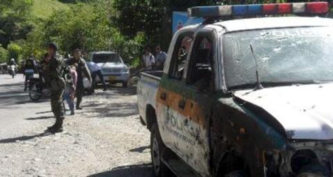 Atentado contra la fuerza pública en Timbiquí