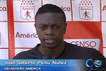 Juan Gilberto 'Pichú' Núñez ya trabaja con el América de Cali