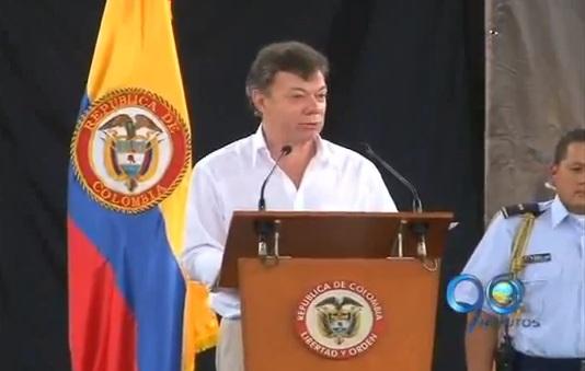 Presidente Santos estará mañana en Buga