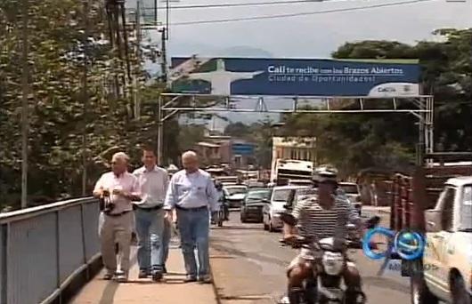 Ingenieros realizaron estudio preliminar del estado del puente de Juanchito