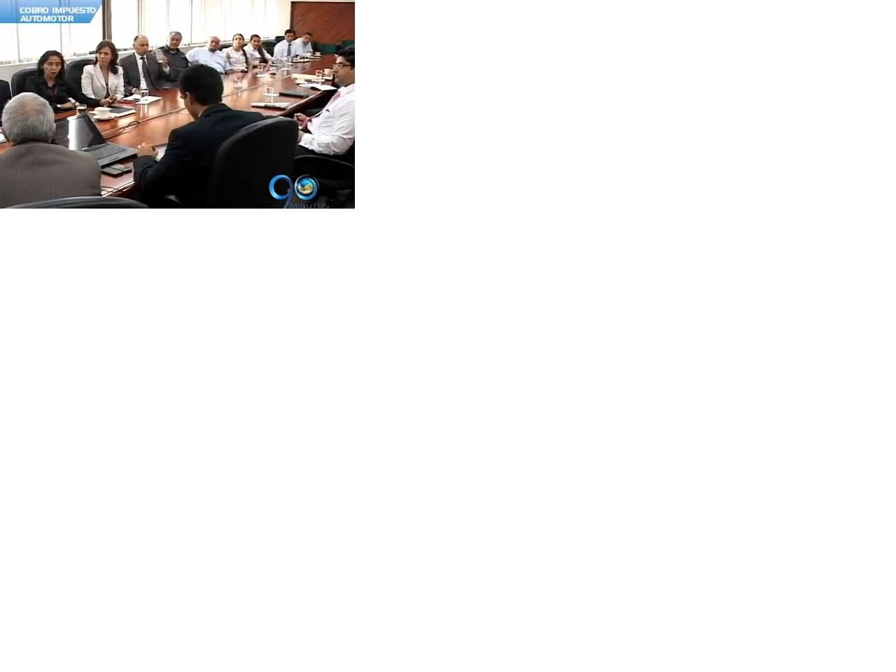 Gobernación y comerciantes lograron acuerdo por el cobro impuesto automotor
