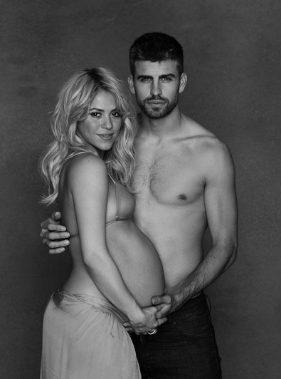 Shakira y Piqué invitan al 'Baby Shower' de su primer hijo