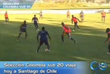 Selección Colombia viajó a Argentina para afrontar Suramericano Sub 20