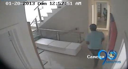 Asalto a vivienda, al sur de Cali, quedó registrado en video