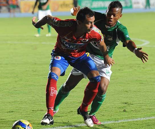 Deportivo Cali y Pasto empataron en el cierre de la tercera fecha