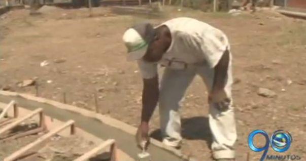 Avanzan obras de embellecimiento en el sector de Potrero Grande