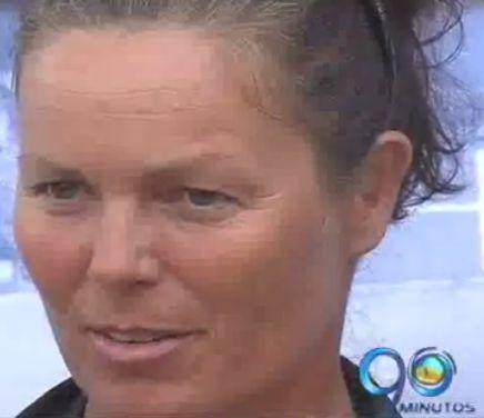 Practicante alemana se encuentra navegando el Océano Pacífico colombiano