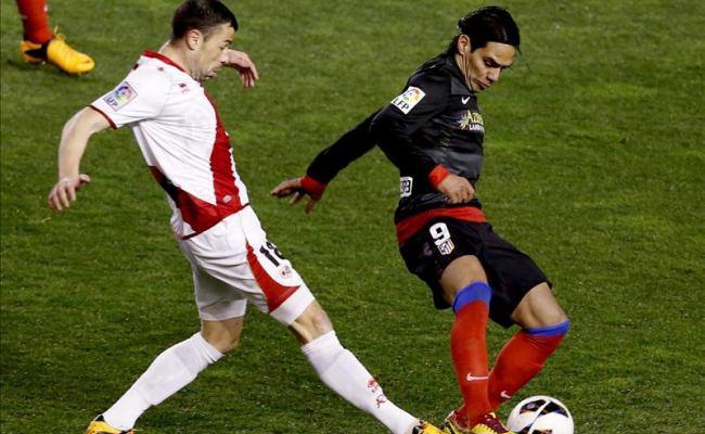Falcao García hizo gol en su cumpleaños pero el Atlético de Madrid perdió