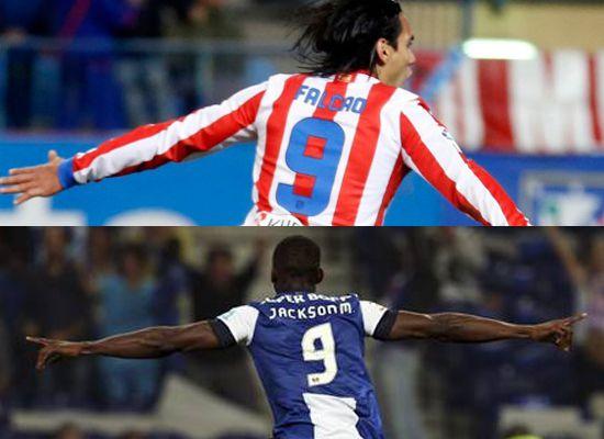 Los goles de Falcao García y Jackson Martínez les dieron triunfo a sus equipos