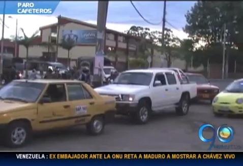 Paro cafetero está dejando a Popayán sin gasolina