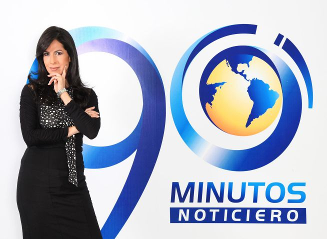 María Claudia Home se despide del Noticiero 90 Minutos