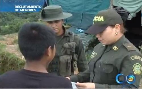 Menor indígena escapó de un campamento de la guerrilla