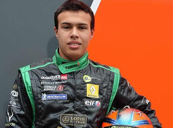 El piloto vallecaucano Óscar Tunjo, prende motores en la Fórmula Renault