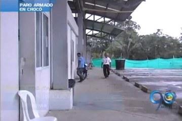 Temor en el Chocó por paro armado ordenado por las Farc