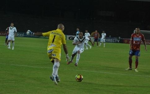 Deportivo Pasto logró victoria a domicilio en su debut en la liga