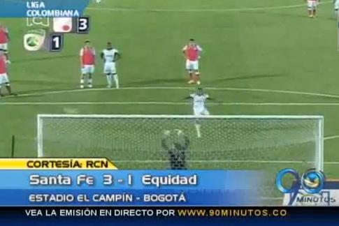 La Equidad sigue haciendo una campaña floja en la liga de fútbol colombiano
