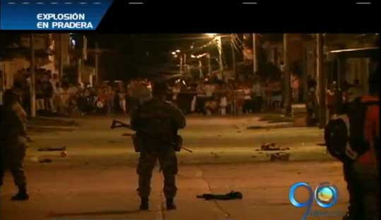 Capturados presuntos autores del atentado con explosivos en Pradera