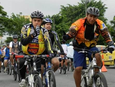 La Ciclovida recargada para este 2013 con un recorrido de 60 Km.