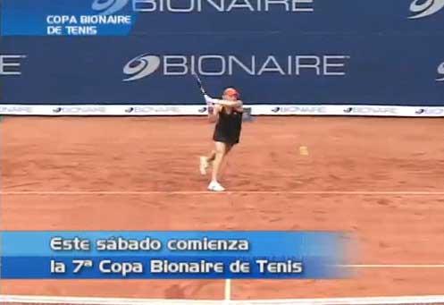 Este sábado se dará inicio a la Copa Bionaire de tenis en Cali