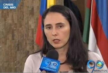 La Presidenta de Metrocali habla sobre la crisis del masivo
