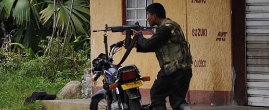 Noche de explosiones y miedo en el Cauca