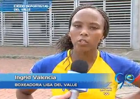 Otro caso de éxodo: la boxeadora Ingrid Valencia se iría de la Liga del Valle