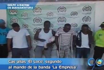 Capturado alias 'El Loco' en Buenaventura