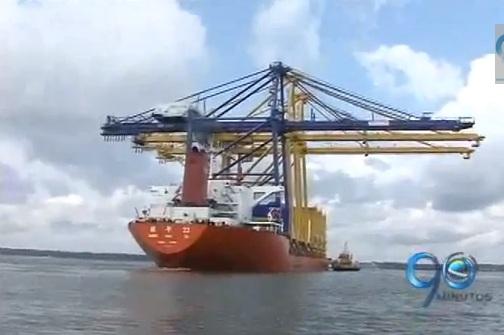 Puerto de Buenaventura recibió grúas de US$ 16 millones