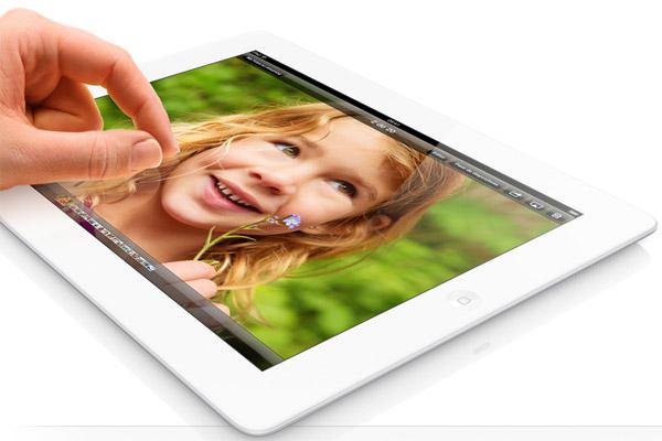 El nuevo iPad tiene pantalla Retina de 128 Gb