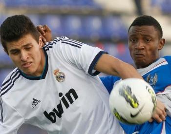 Nariñense Juan José Narváez, en las divisiones menores del Real Madrid