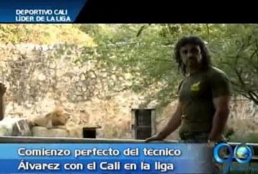 Comienzo perfecto del técnico Leonel Álvarez con el Deportivo Cali
